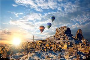 Istanbul in slikovita Kapadokija + 3 nočitve z all inclusive počitnicami na obali 2020